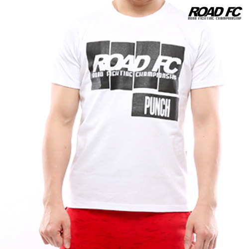 Road FC 'Punch' T- White