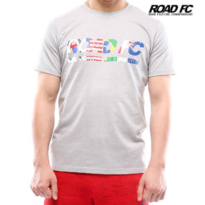 Road FC 'National' T- Gray
